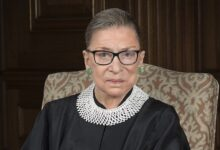 Photo of Justice Ginsburg, our democracy and doing the right thing