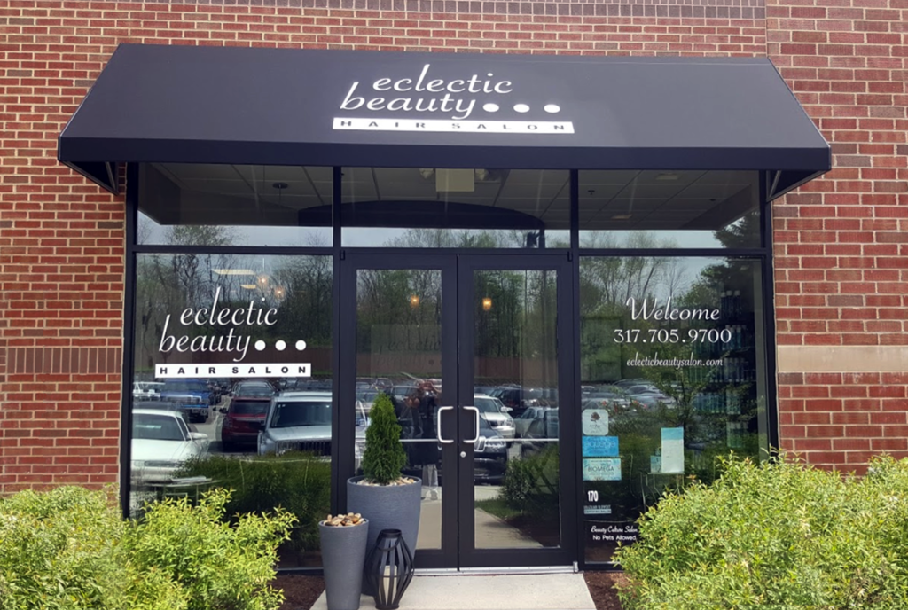 Eclectic Beauty Salon at our Clay Terrace Mall Location
