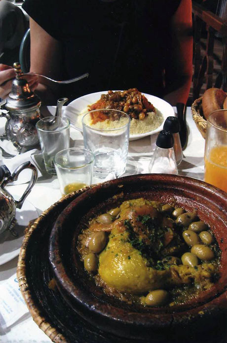 "Daily meals of ""tajine"" throughout North Africa"