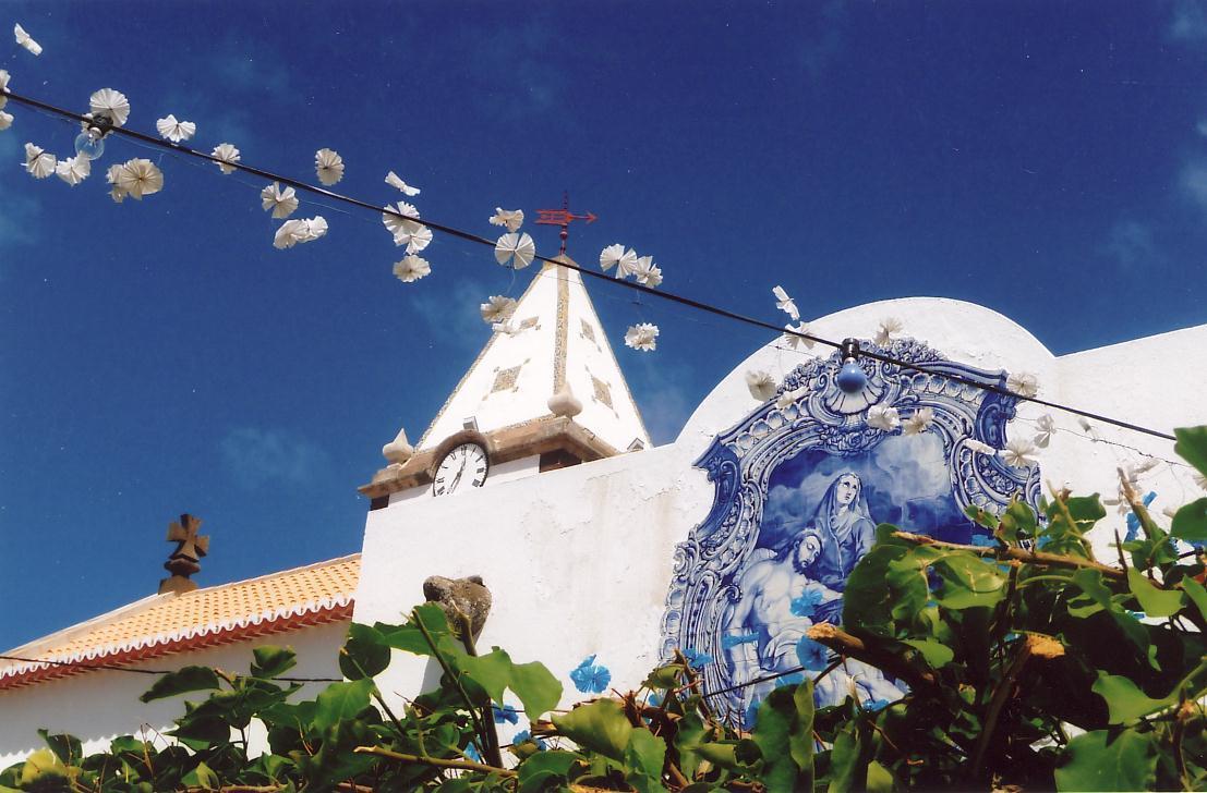 Part of the original parish church, Nossa Senhora da Piedade, where Diamantina worked