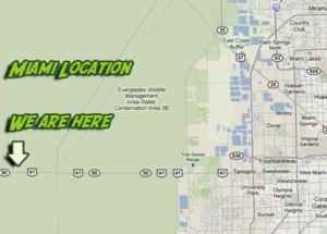 Map Miami