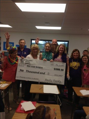 Betsy Bilbry and Allyson Solymosy 5th grade 2015 Teacher Grant