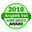Angies list Super Service Awards 2018