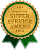 Angies list Super Service Awards 2014