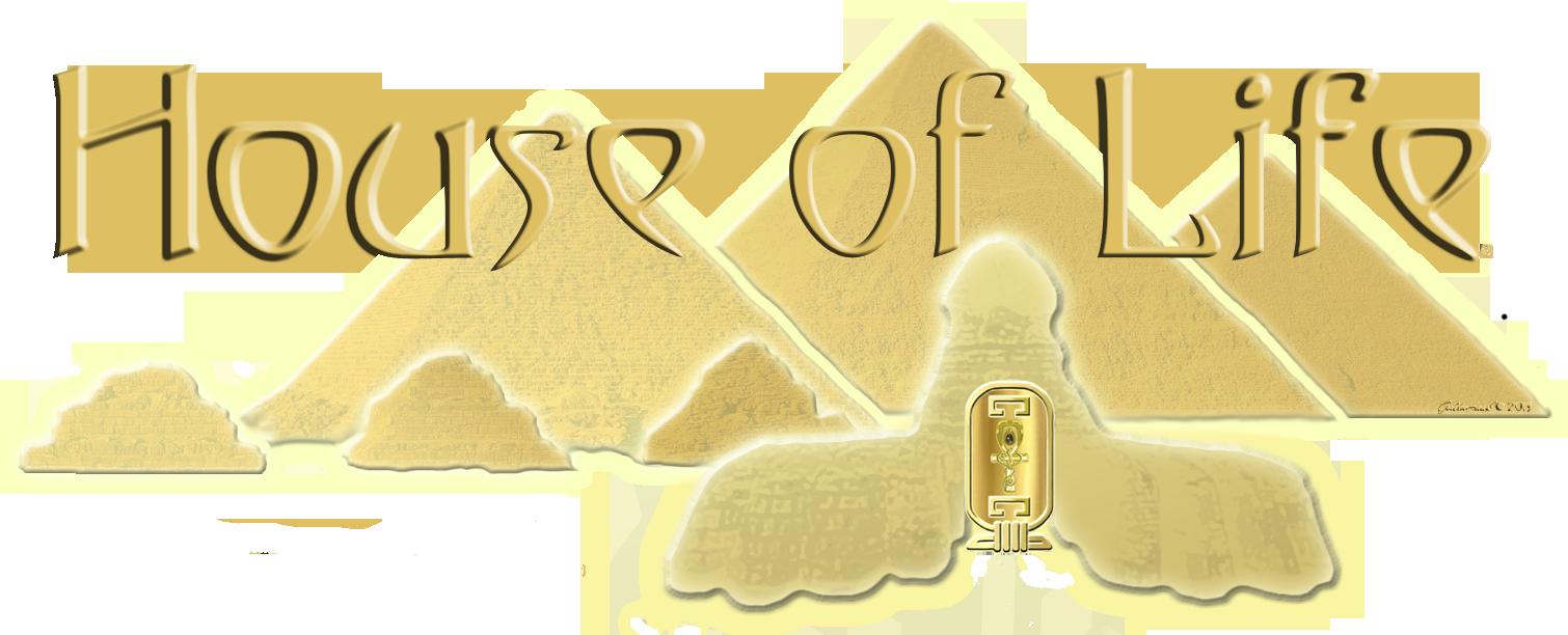 Giza Pyramid Logo House of Life
