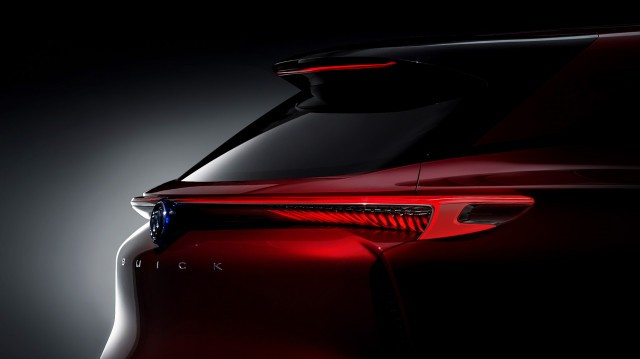Teaser for Buick Enspire concept debuting at 2018 Beijing auto show