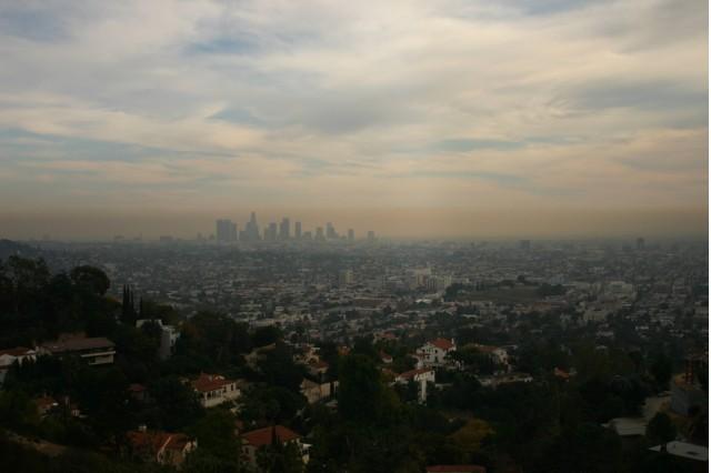 Smog over Los Angeles, courtesy Flickr user steven-buss