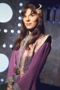 Mira as Delenn in Babylon 5