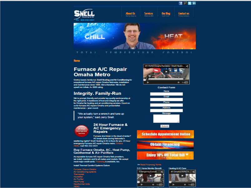 Snell Heating and AC