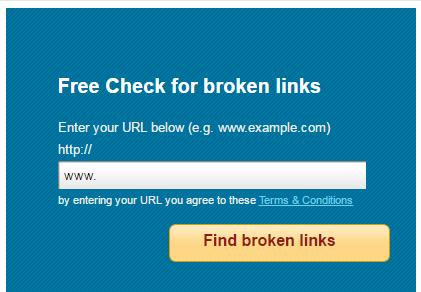 free-broken-link-checker