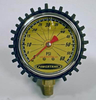 Tire Inflator Gauge Liquid Filled