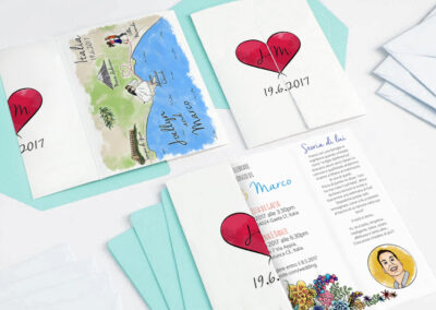 Presutto Wedding Invitation