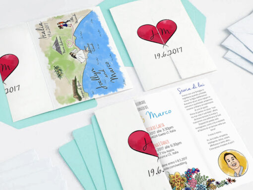 Presutto Wedding Invitation