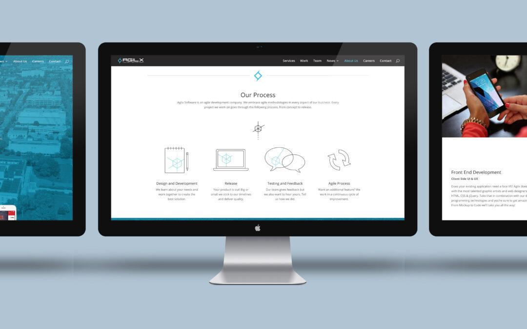 Agilx Website Design