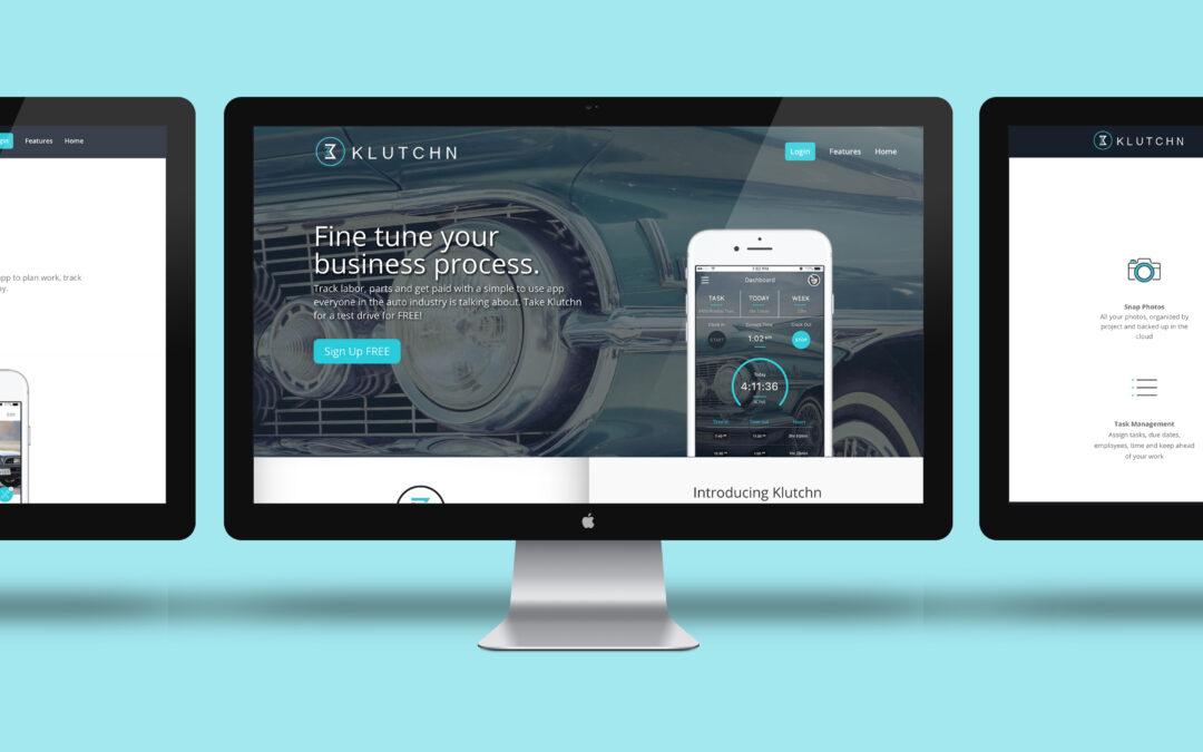 Klutchn Website Design