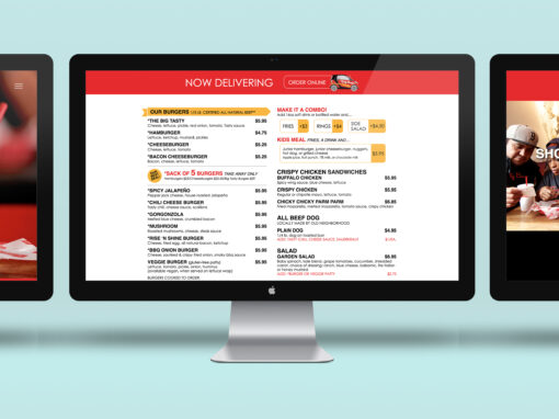 Tasty Burger Website Concept