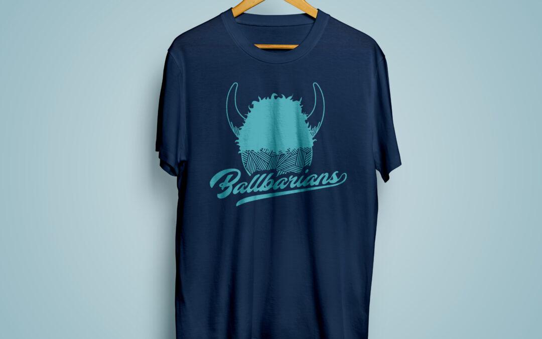 Kickball T-Shirt Design