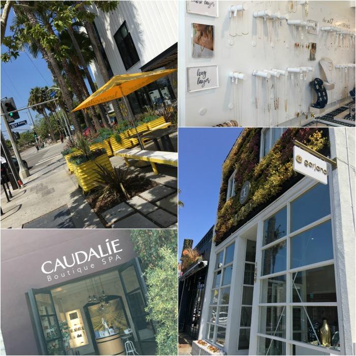 abbot kinney, abbot kinney blvd, shopping, venice beach, venice, california, caudalie, gorjana, lemonade, lemonade LA