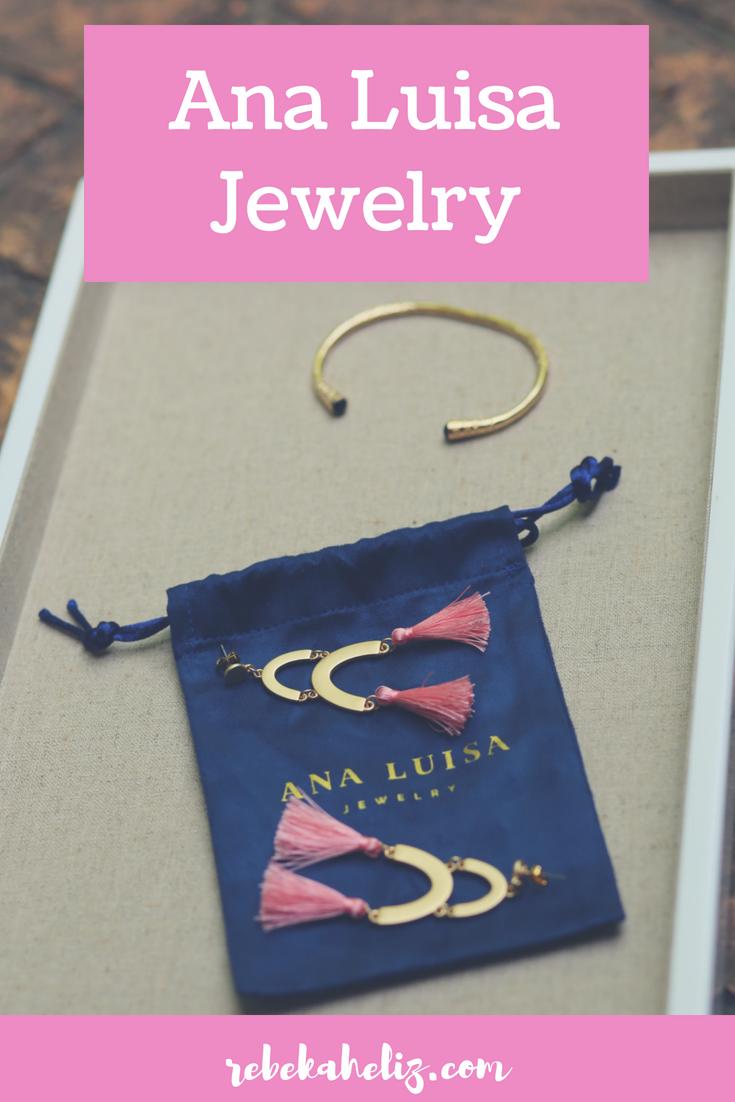 ana luisa, ana luisa jewelry, ana luisa jewelry review, jewelry review, jewelry, tassel earrings, pink, pink earrings