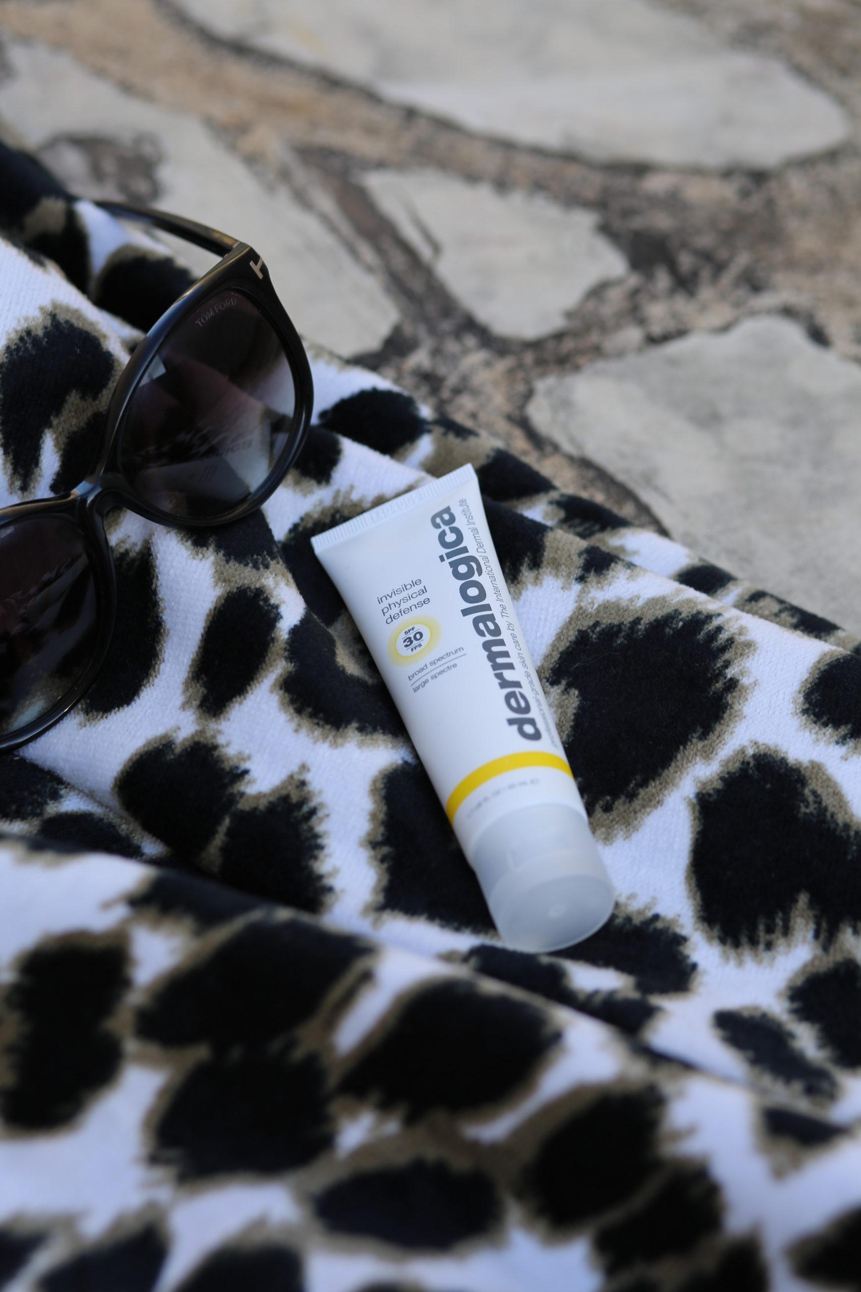 sunscreen, chemical vs. mineral sunscreen, sunblock, dermalogica