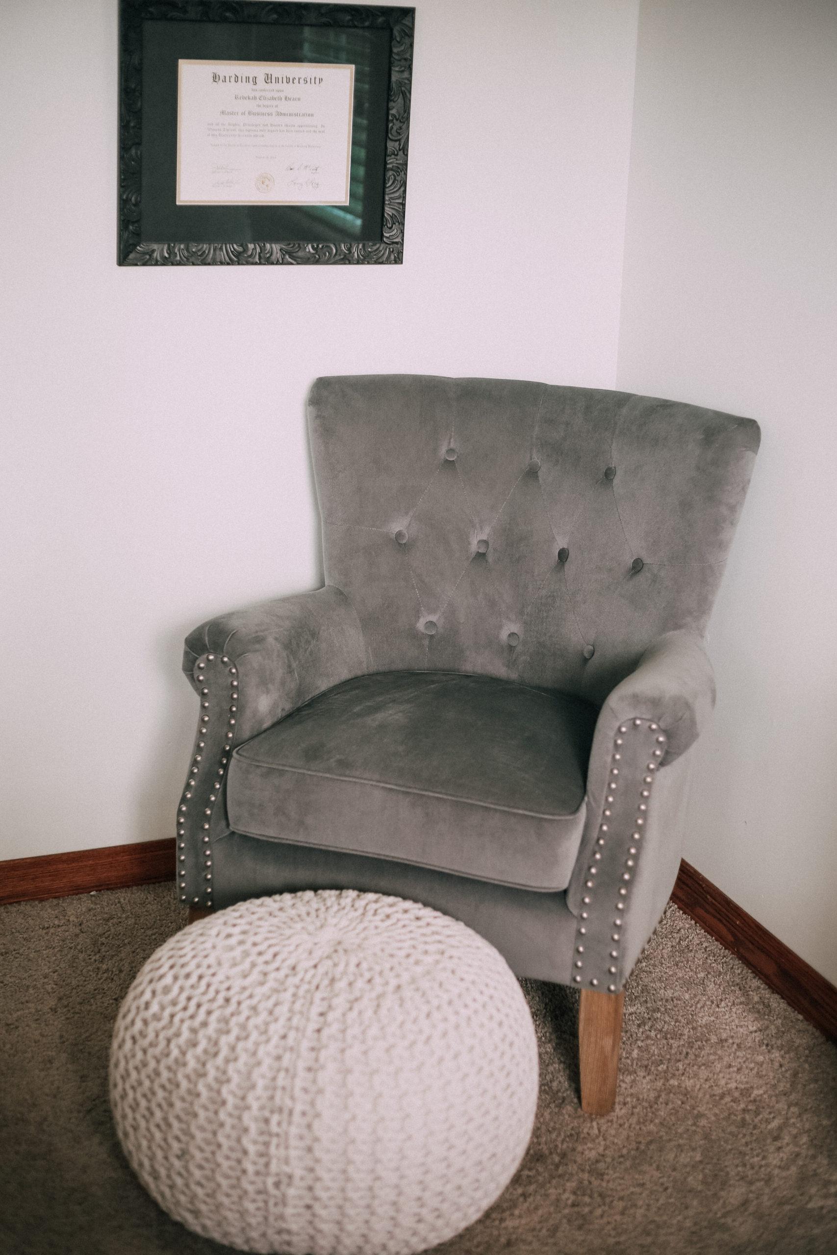 affordable bedroom decor, Walmart, white bedding