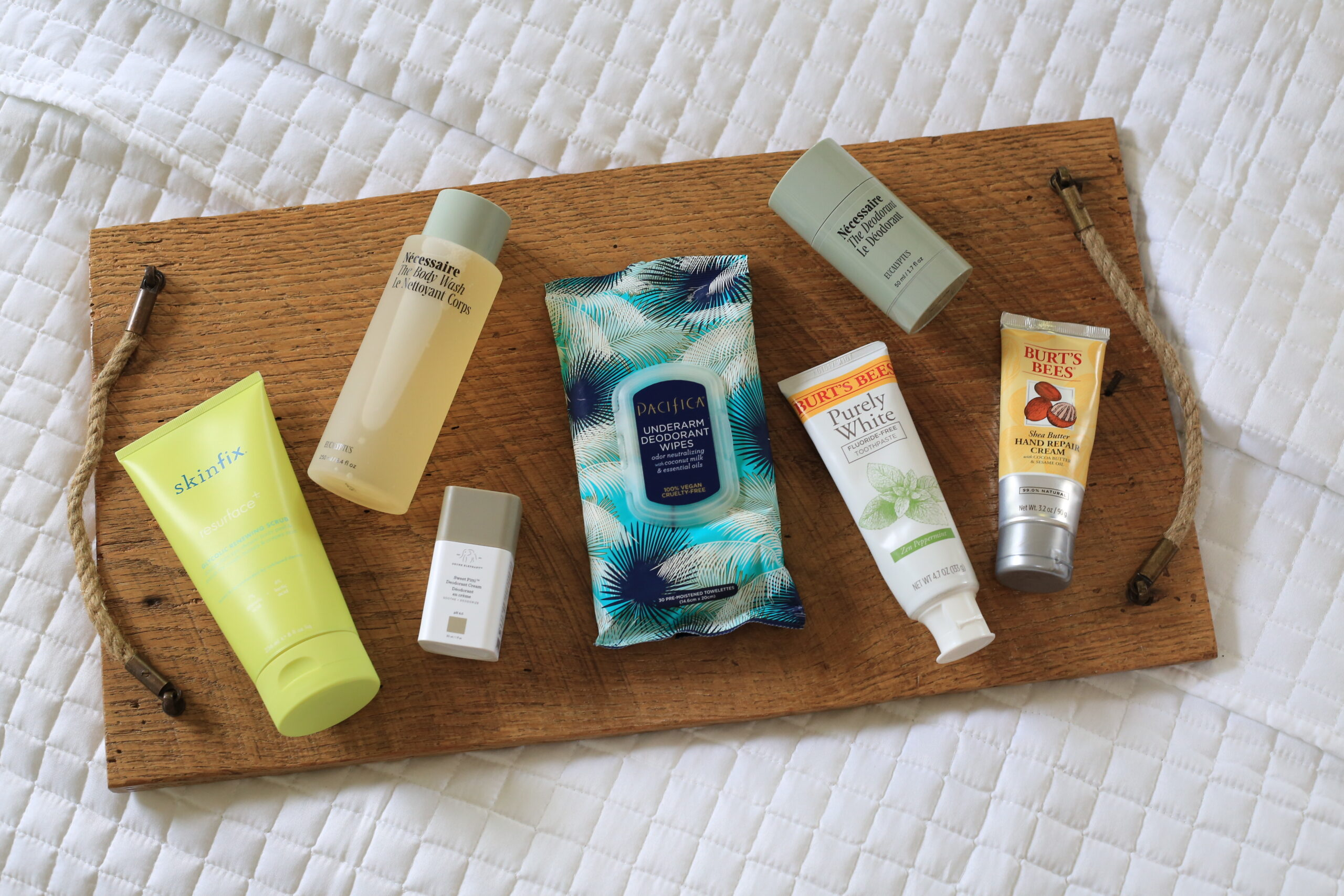 clean beauty, clean body products, clean toothpaste, clean deodorant, clean body wash