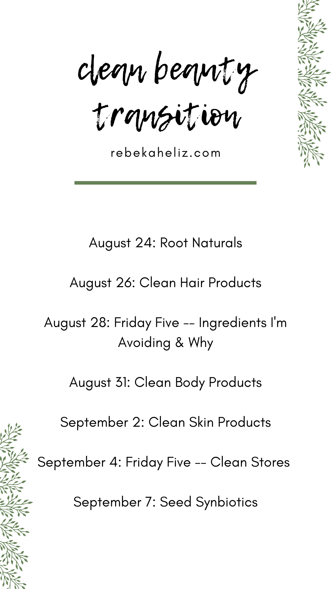 clean beauty, clean skincare, skincare, haircare, beauty products