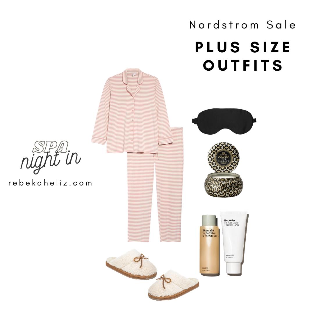 Nordstrom Sale, nsale, pj's, plus size outfits