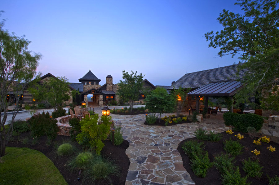 golf clubhouse village architecture
