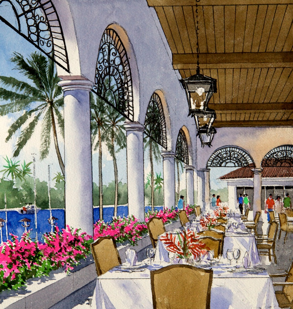 country club architecture design yacht club