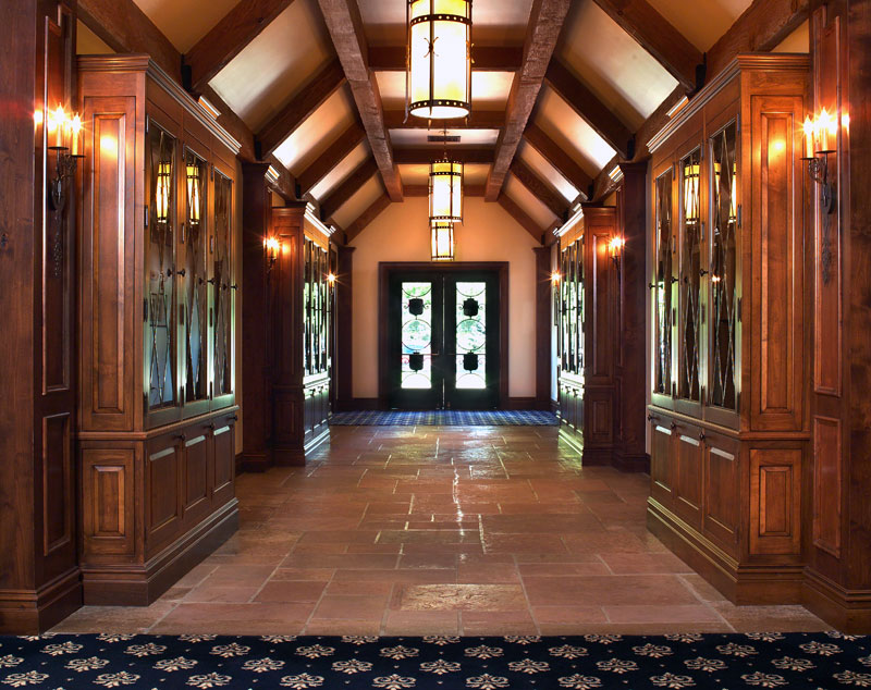 golf clubhouse hall of champions