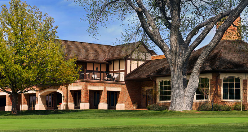 Tudor architecture golf club