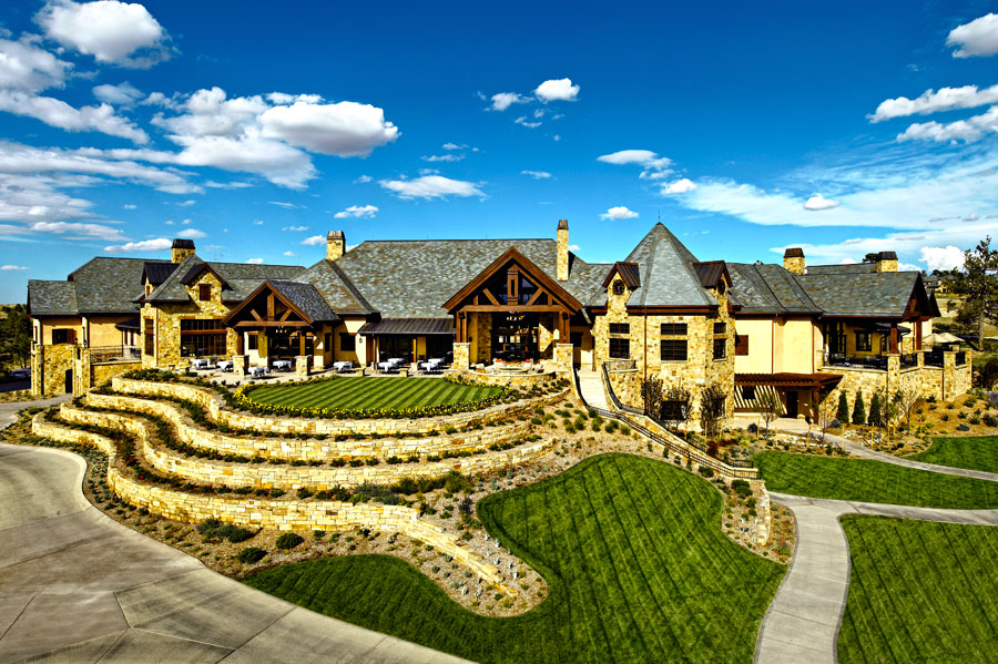 golf clubhouse architecture