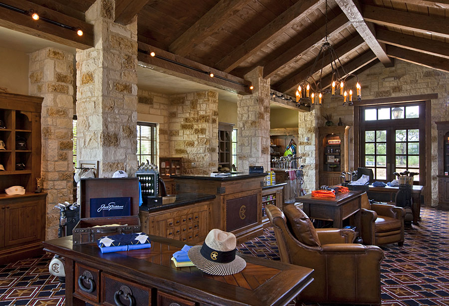 country club pro shop interior design