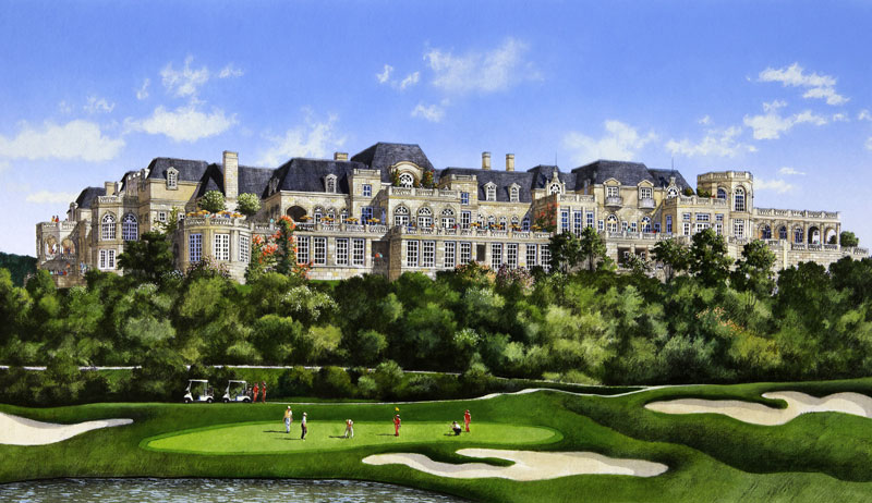 french manor golf clubhouse