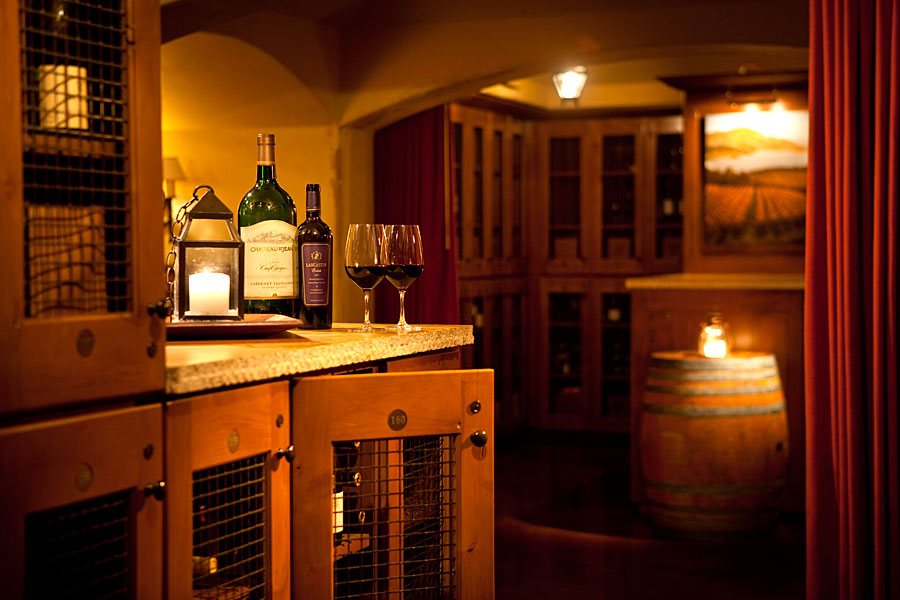 country club wine room interior design