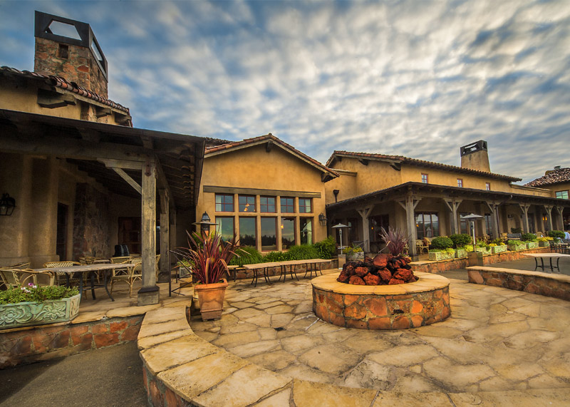 wine country golf clubhouse architecture