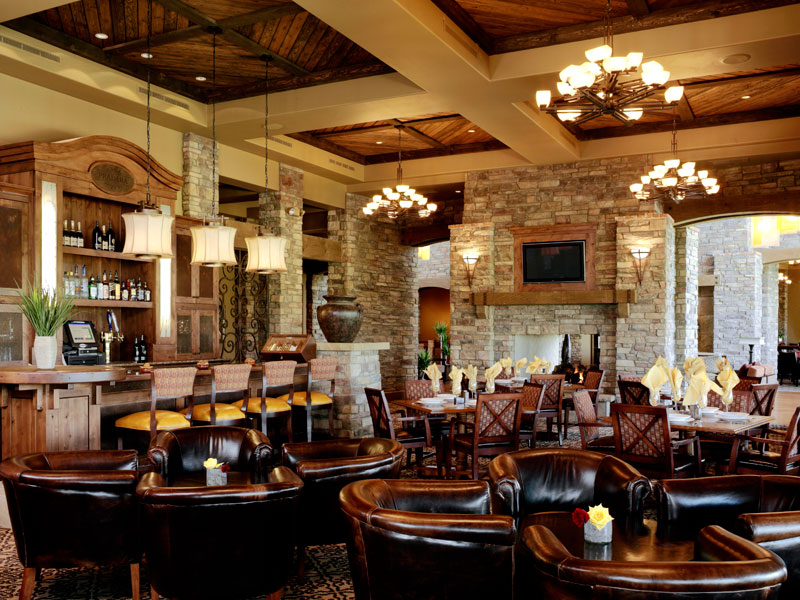 country club mixed grill dining and bar interior design