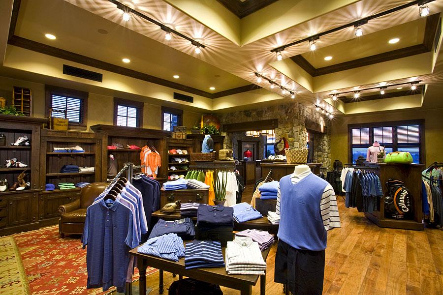 golf clubhouse pro shop