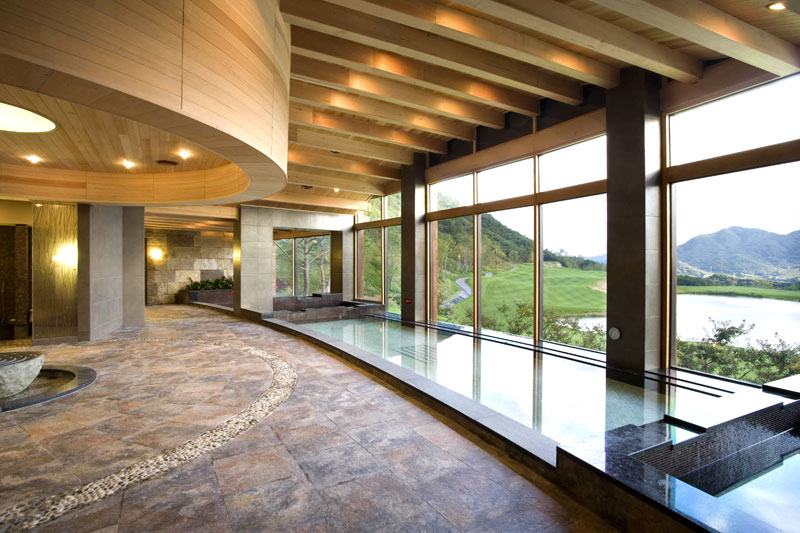 country club pool interior design