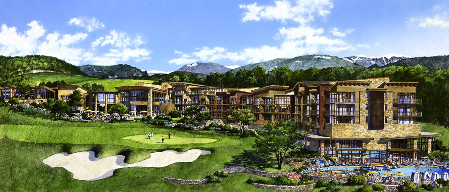 golf resort and hotel in russia
