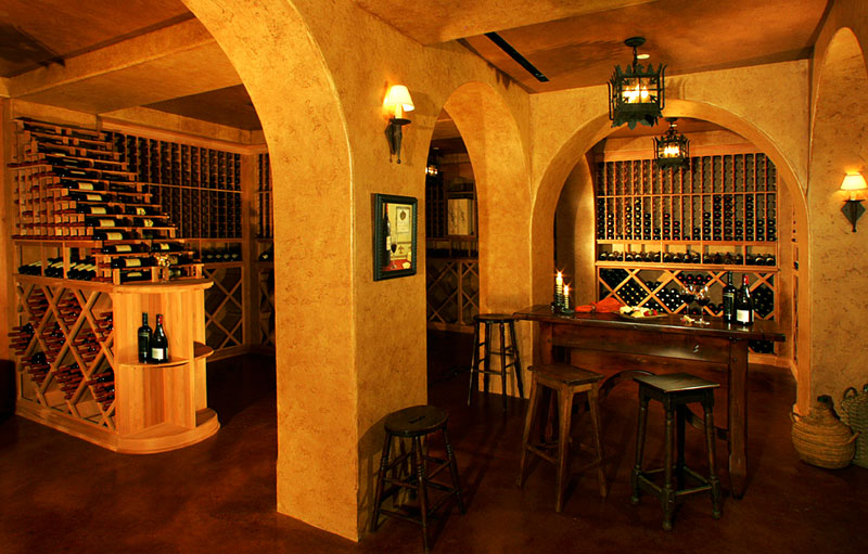 clubhouse wine cellar