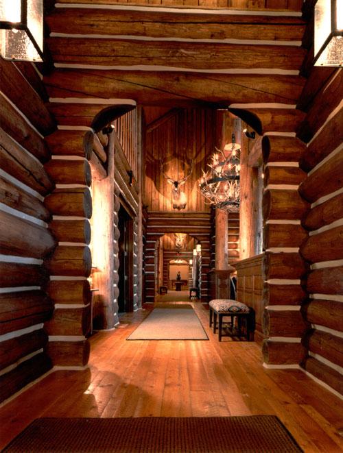 log lodge golf club interior design