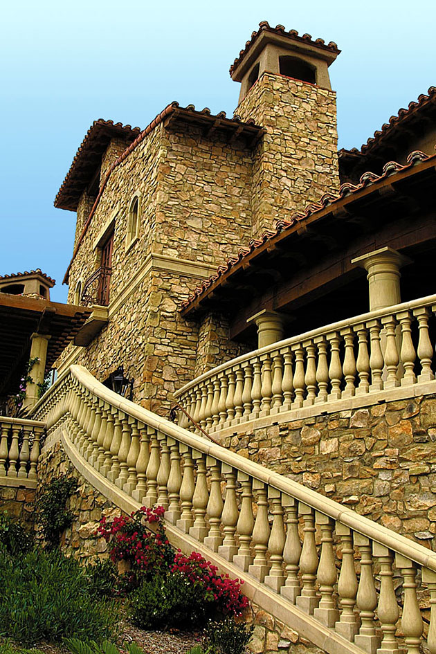 tuscan architecture golf clubhouse