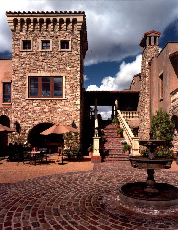 tuscan architecture golf club