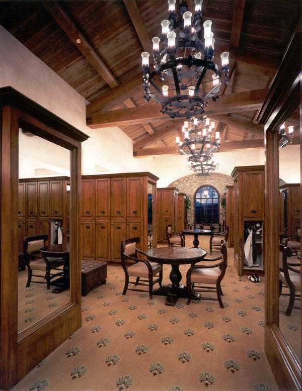 golf clubhouse locker room