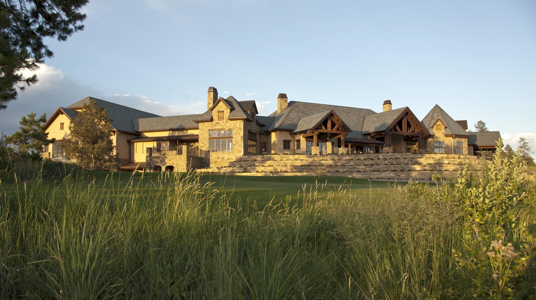 private golf clubhouse in colorado