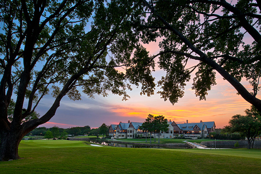 golf clubhouse Tudor style architecture