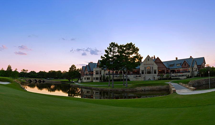 tudor architecture golf clubhouse