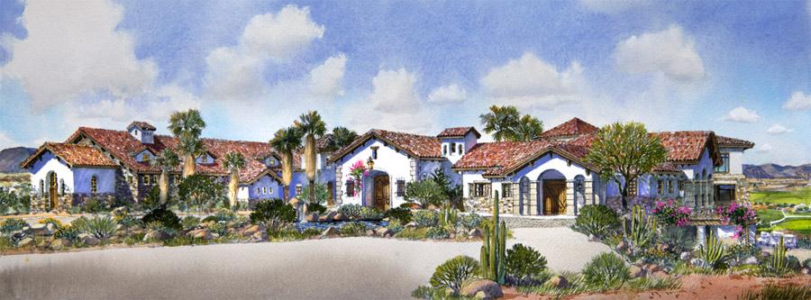 desert golf clubhouse